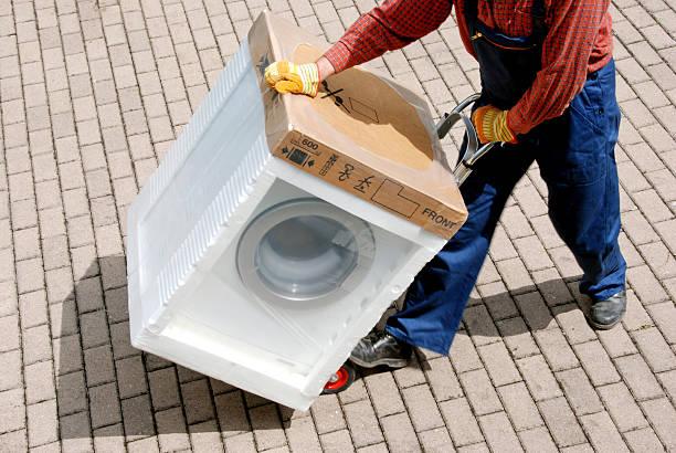 Washer Dryer being deliverednew washing machine